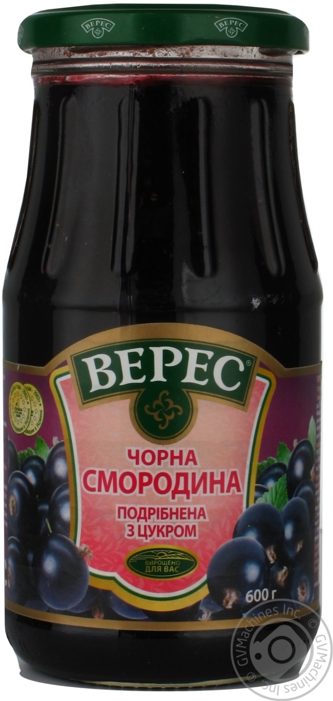 Veres blackberry crushed with sugar 600g