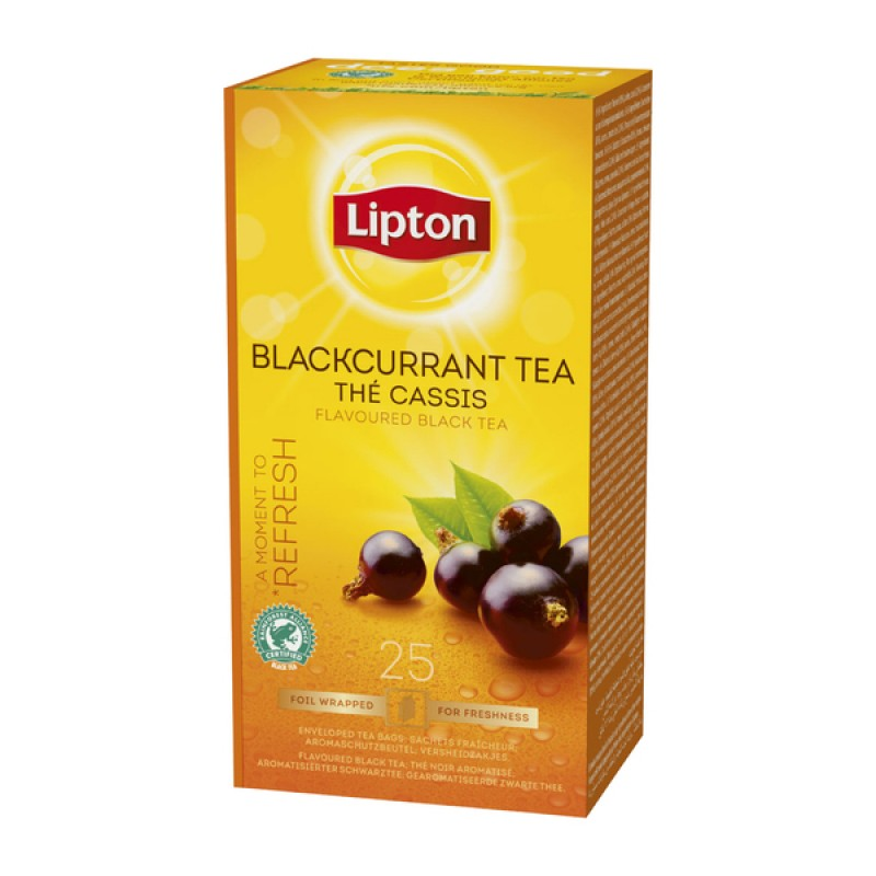 Чай аром.Lipton Blackurrant Tea 25*1,6г.