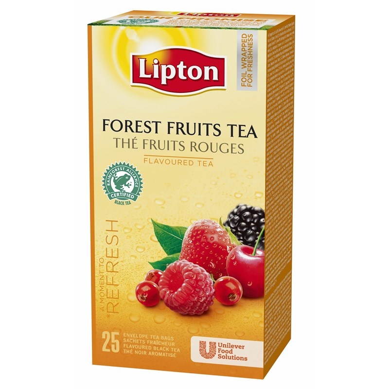 Чай аром.Lipton Forest Fruit Tea 25*1,6г.