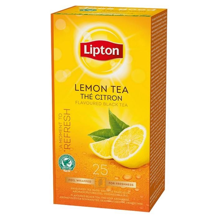 Чай аром.Lipton Lemon Tea 25*1,6г.