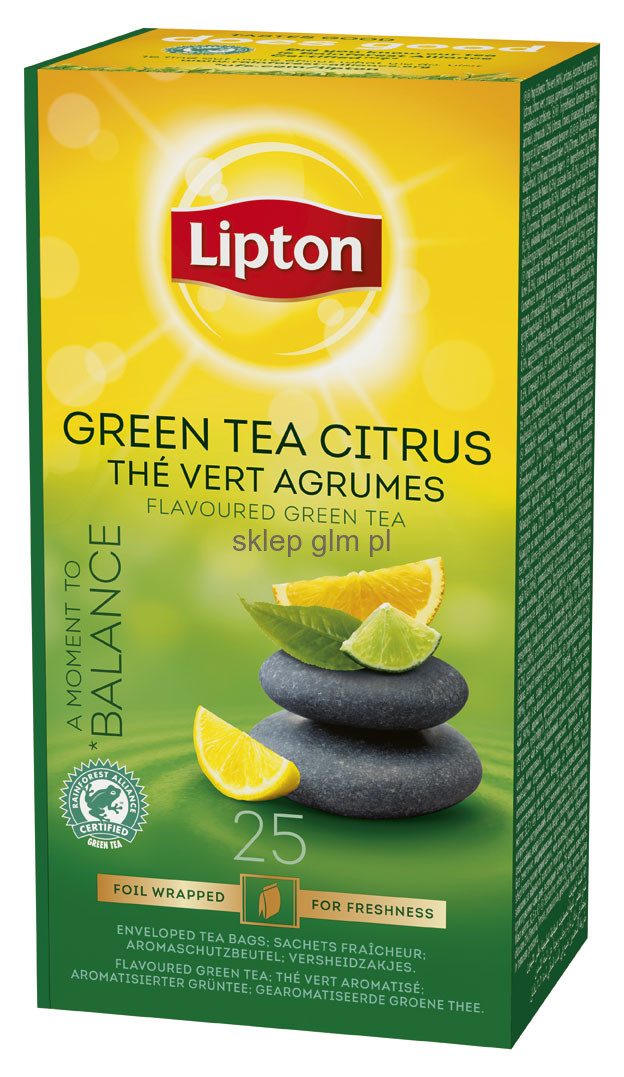 Чай зел.Lipton Green Tea Tchae Citrus 25*1,3г