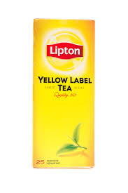Чай чор.Lipton Yellow Label Tea 25*1,8г.