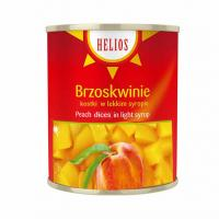 Helcom peach halves 4250 ml.